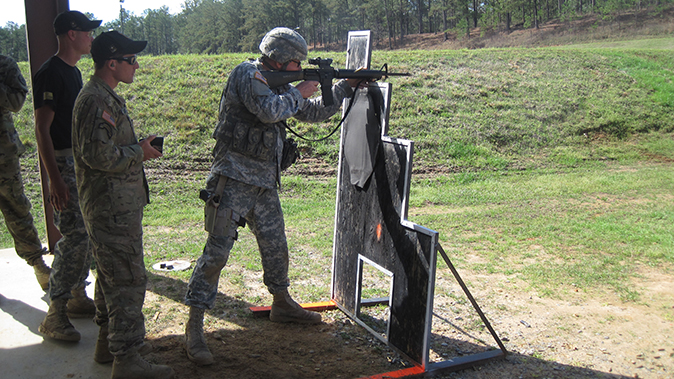 american soldiers usamu all army course