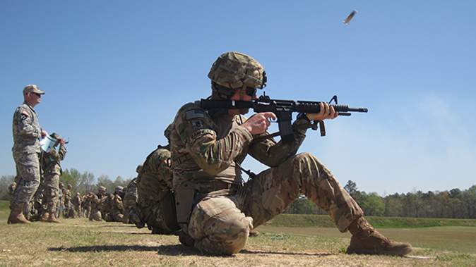 american soldiers usamu all army timed course