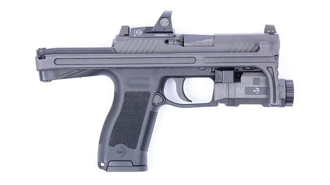 B&T USW-320 stock folded right profile