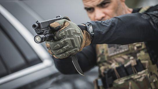 vertx tactical gloves action shot