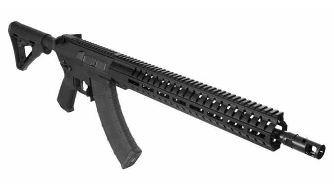 CMMG MK47 mutant akr rifle front angle