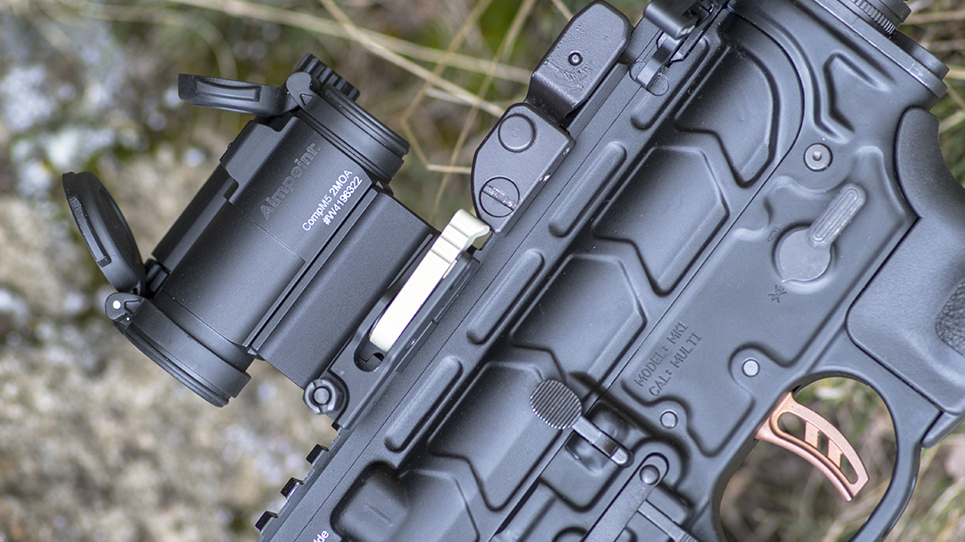 Aimpoint CompM5 red dot optic lead
