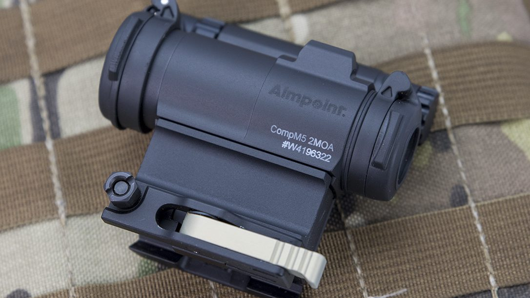 Aimpoint CompM5 red dot optic profile