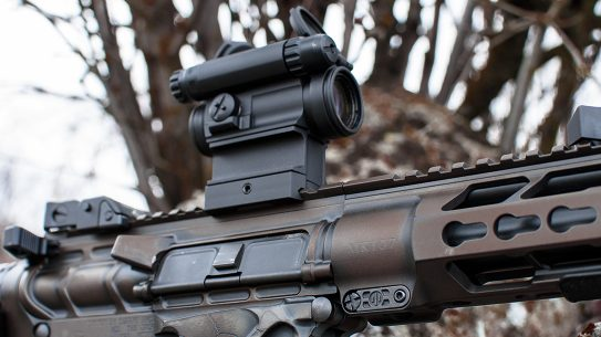 Aimpoint CompM5 red dot optic rifle
