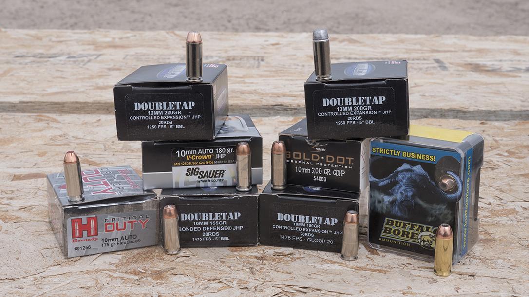 10mm Pistol, ammo, ammunition, cartridge