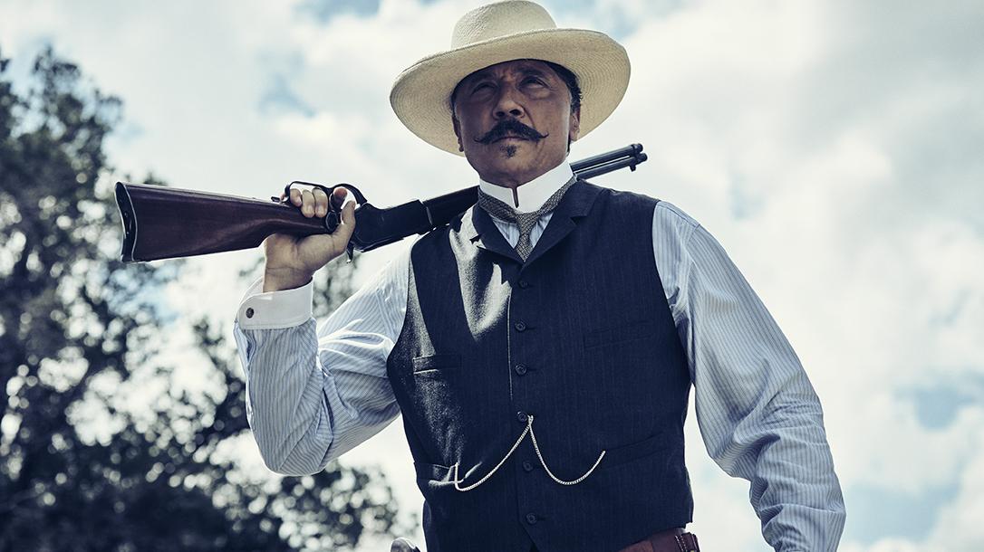 amc the son winchester 1873 rifle