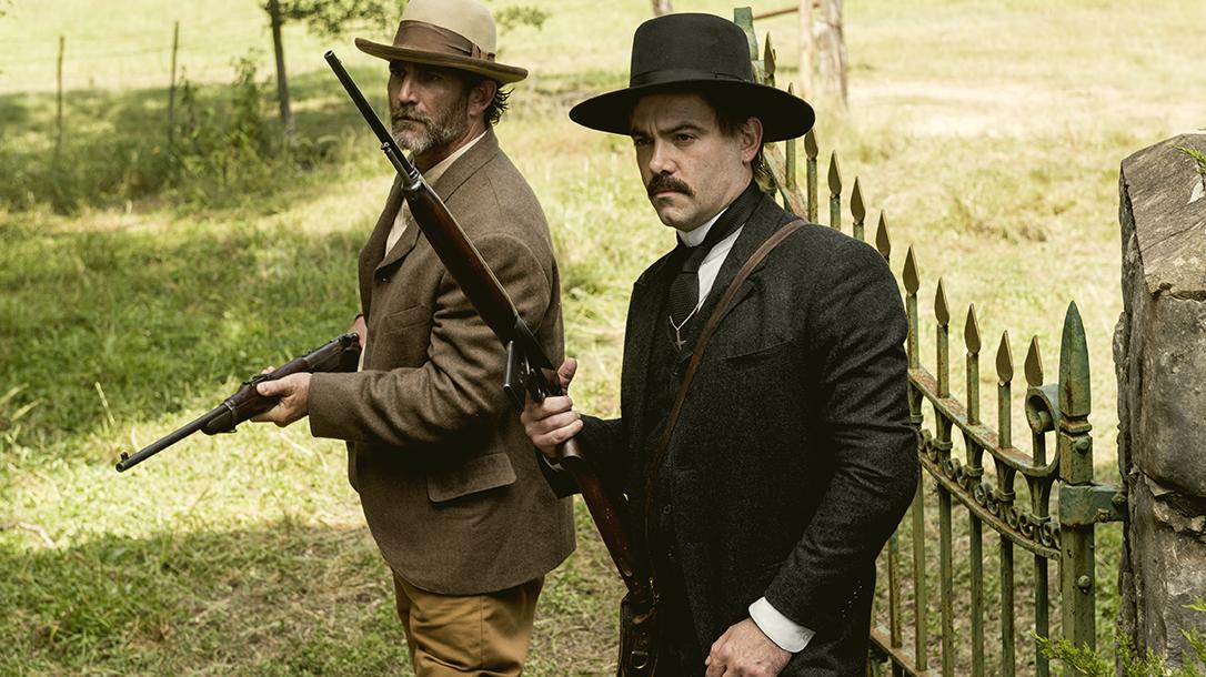 amc the son winchester 1895 rifle