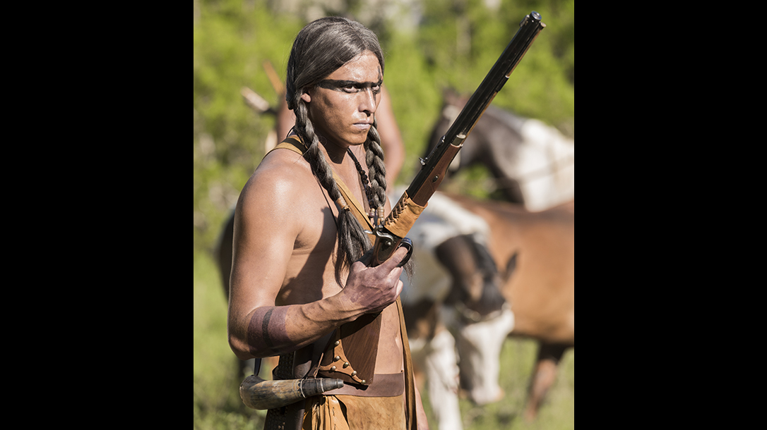 amc the son hawken percussion rifle