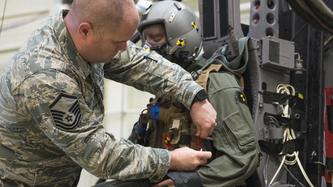 air force modular handgun system attached