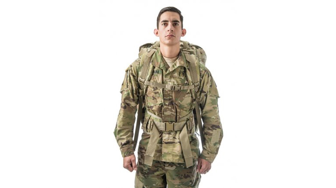 us army molle 4000 rucksack front view