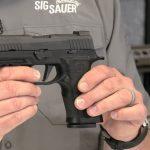 Bismarck Police Department sig sauer p320 pistol left profile