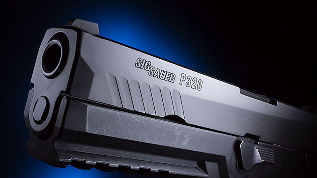 Bismarck Police Department sig sauer p320 pistol serrations