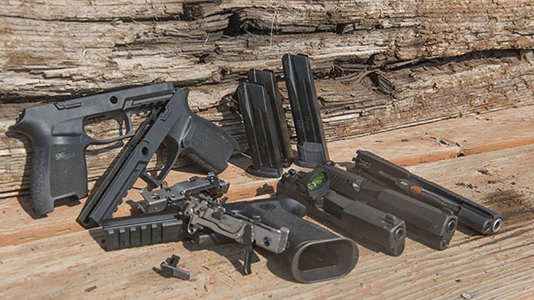 Bismarck Police Department sig sauer p320 pistol modularity grips