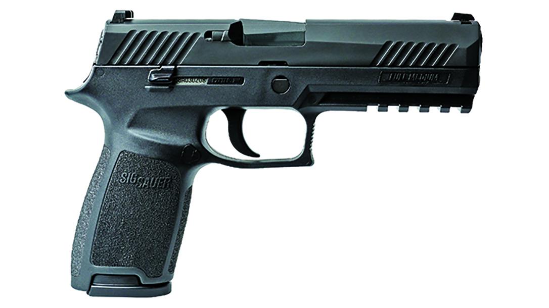 Bismarck Police Department sig sauer p320 pistol right profile