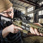 CMMG Banshee pistol shooting