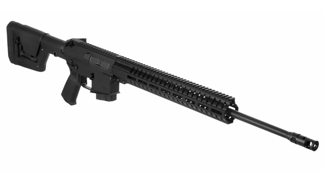 CMMG MkW AnvilXLR2 rifle right angle