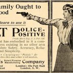 colt police positive revolver advertisement