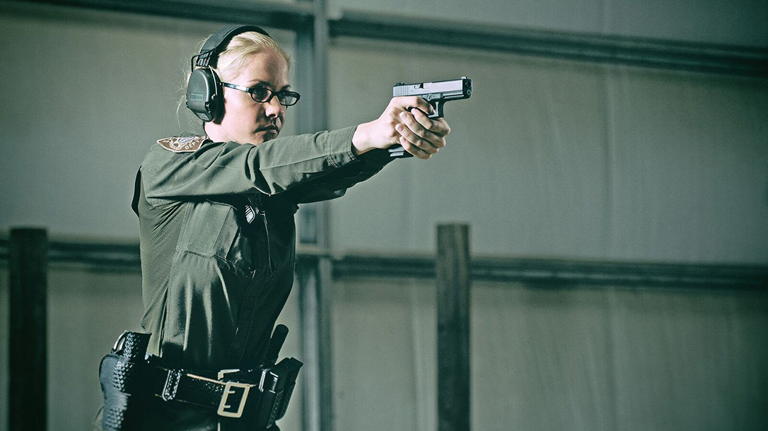 Law Enforcement Safety Act, glock pistols female police officer
