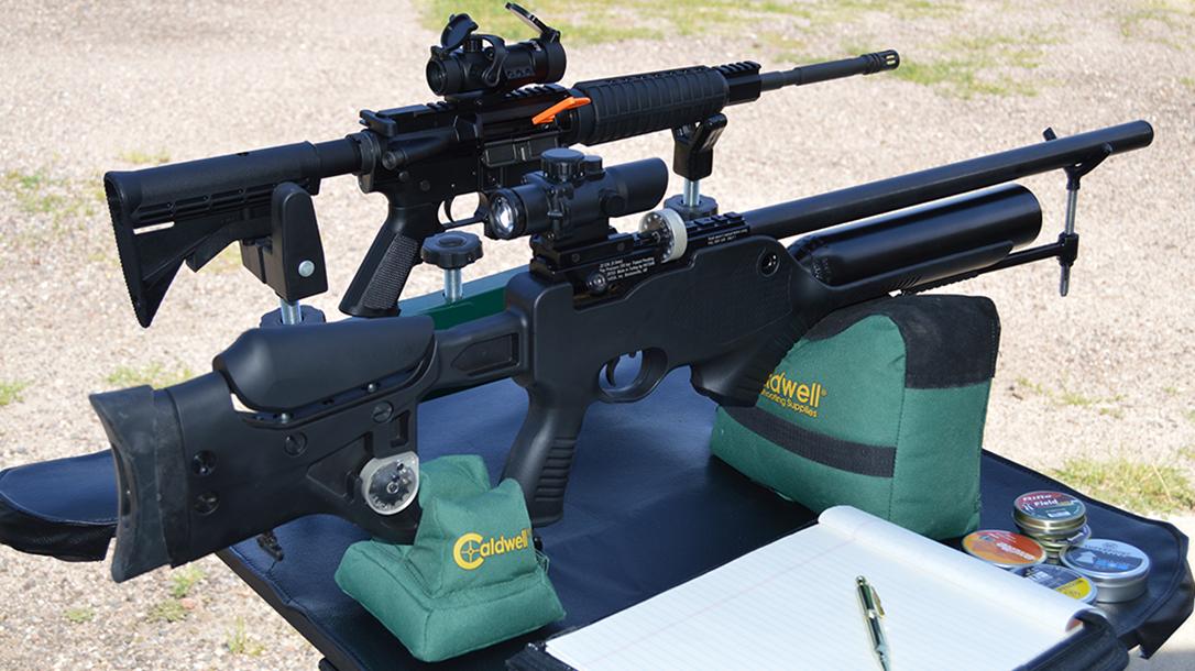 Hatsan Barrage air rifle and ar