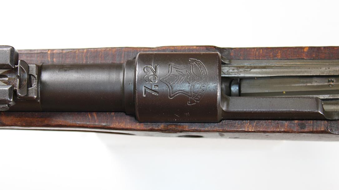 israeli k98 rifle stamping