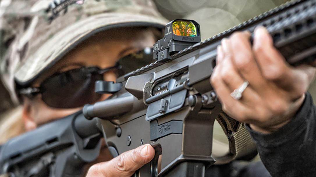 Nikon P-Tactical Spur sight rifle