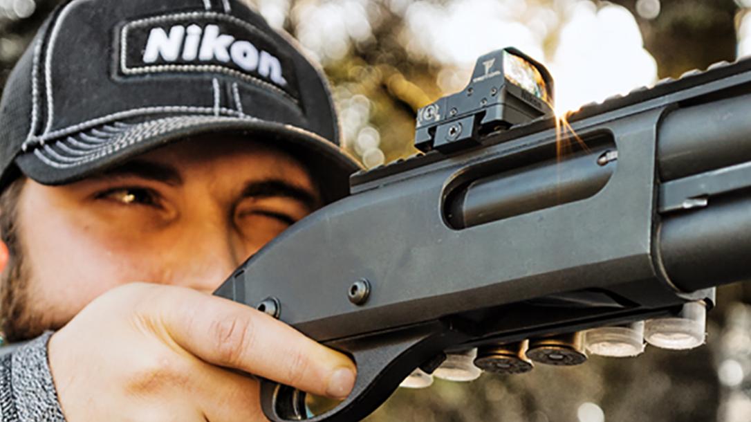 Nikon P-Tactical Spur sight shotgun