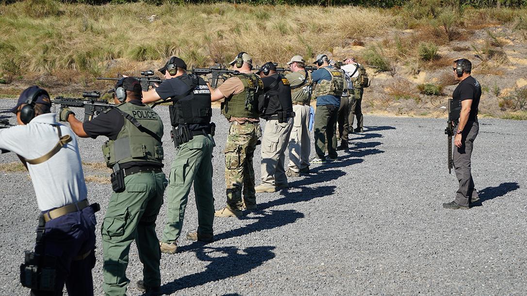 operation blue training line drill