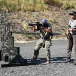 operation blue training carbine shooting