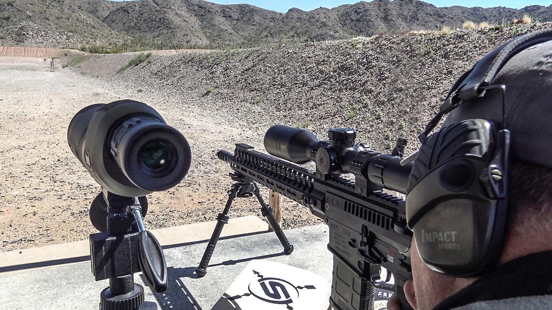 POF Revolution rifle shooting test