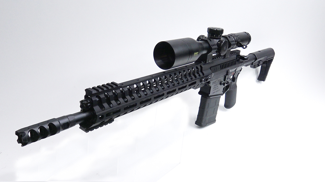 POF Revolution rifle left angle