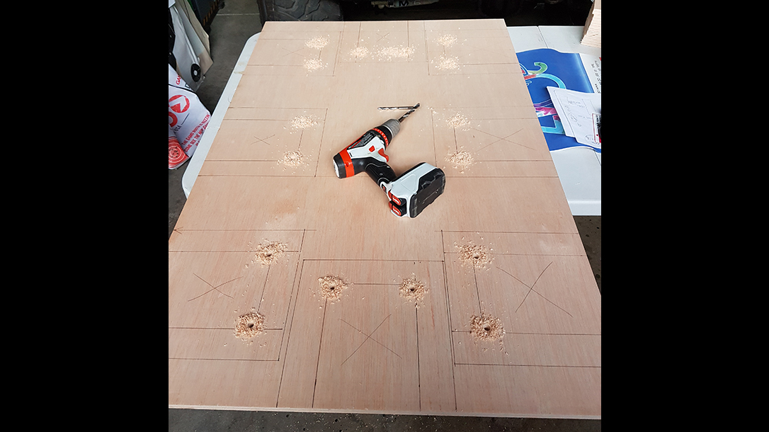 reloading bench plywood top