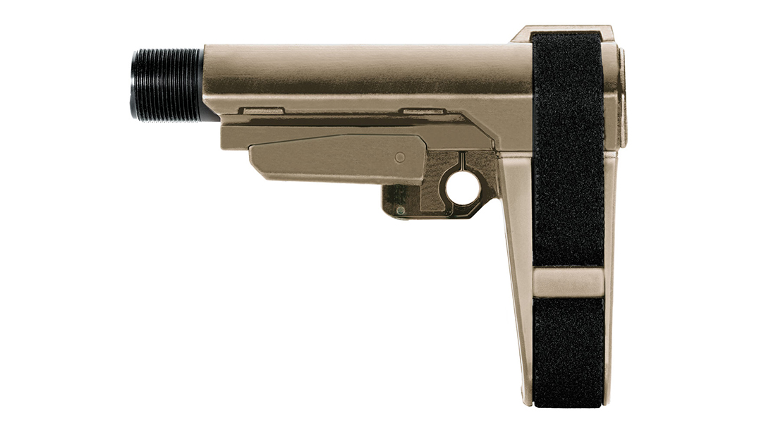 SB Tactical SBA3 AR Pistol Brace fde