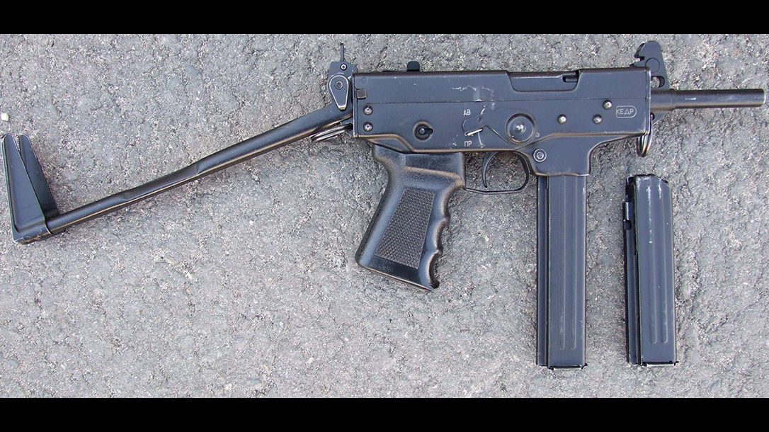 russian submachine guns p-91 kEDR