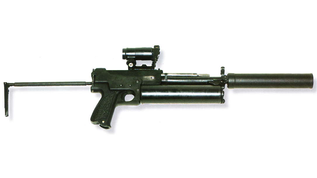 russian submachine guns PP-90M1