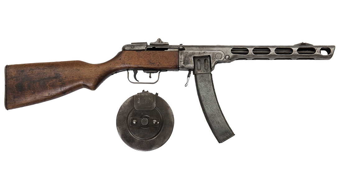 russian submachine guns ppsh-41