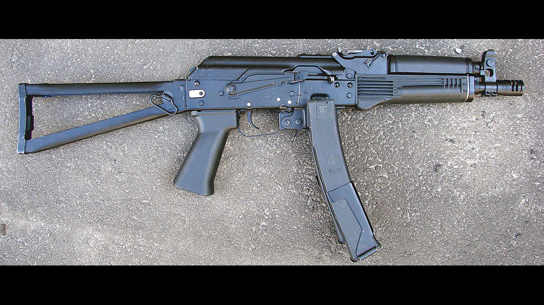 russian submachine guns pp-19-01 vityaz
