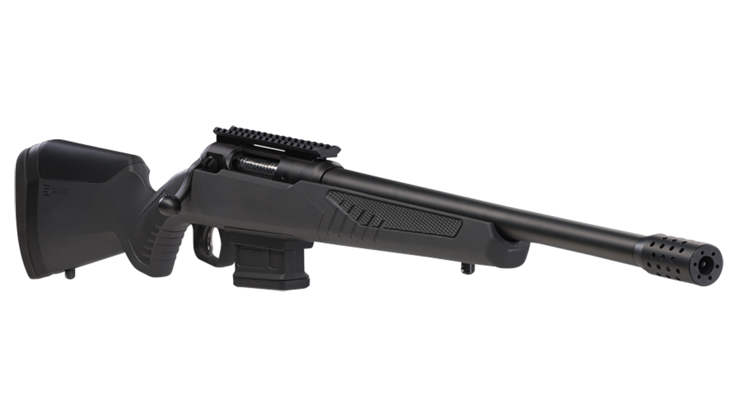 Savage Model 110 Wolverine rifle right angle