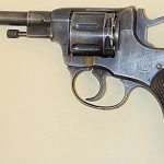 soviet pistols Nagant M1895 revolver left profile
