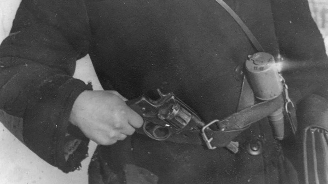 soviet pistols Nagant M1895 revolver