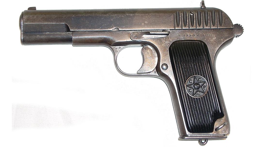 soviet pistols tokarev tt-33