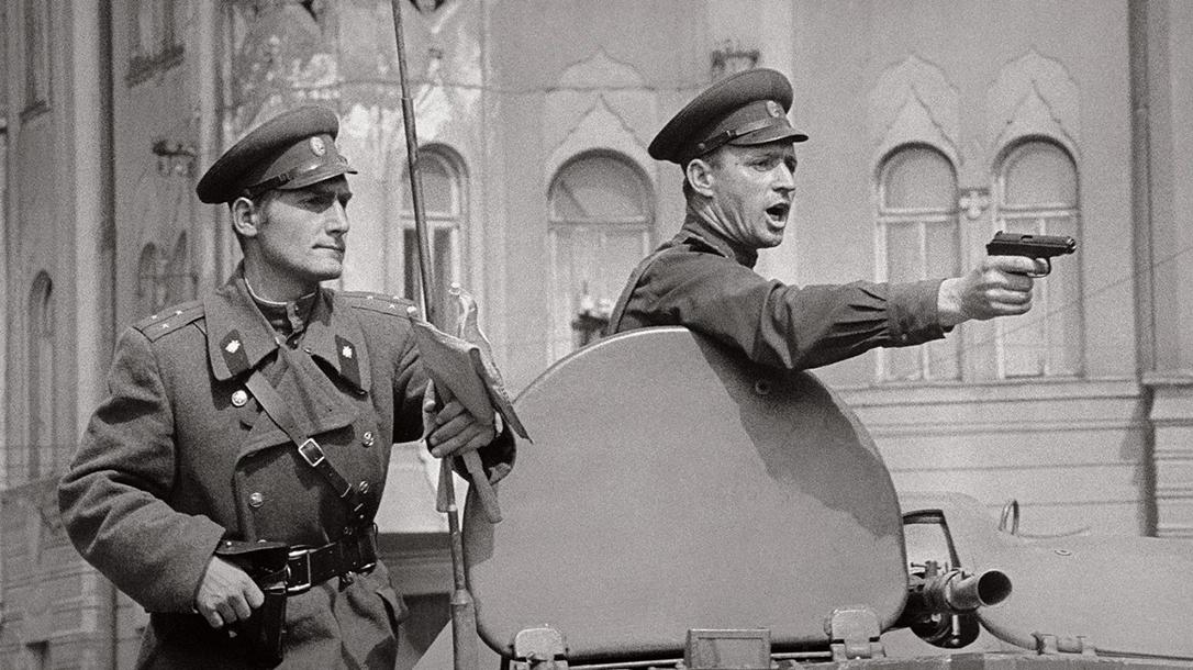 soviet pistols pm pistol prague invasion