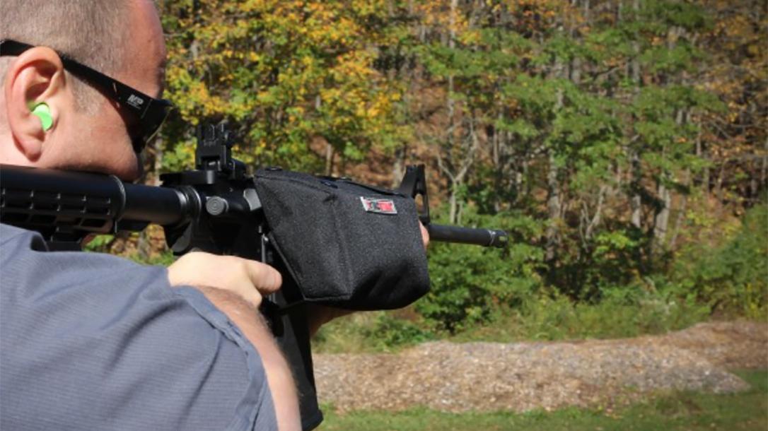 TacStar Brass Catcher range test