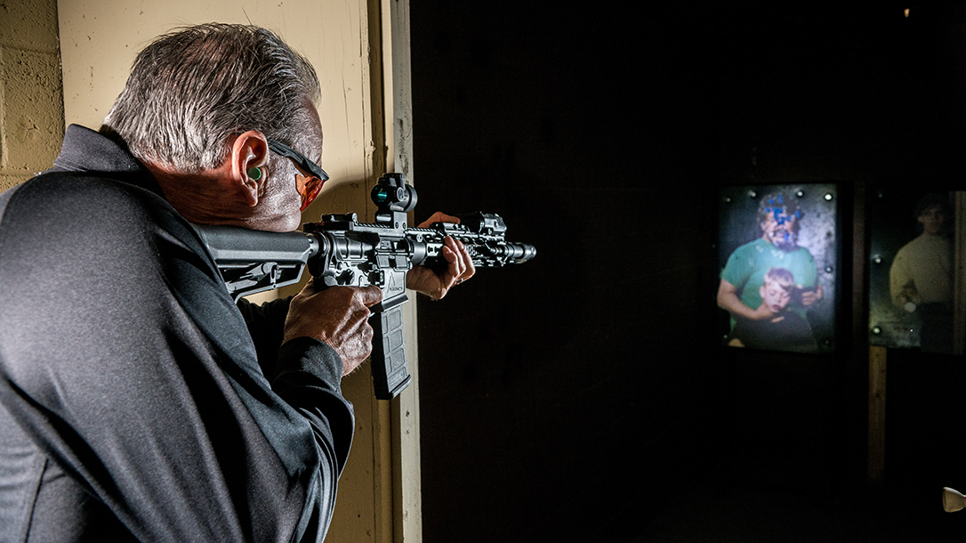 Agency Arms Classified Rifle review target