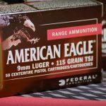 FBI 9mm ammo contract, training round, federal premium, American Eagle