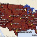 Mass Attacks, Mass Shootings, map
