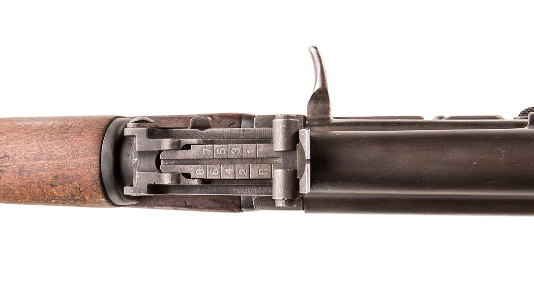 AK-47 Type 1 rifle receiver markings