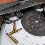 AK-47 Type 1 rifle target
