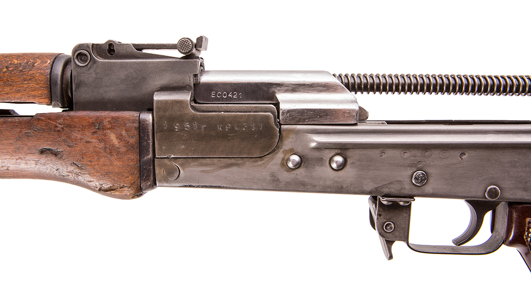 AK-47 Type 1 rifle left profile