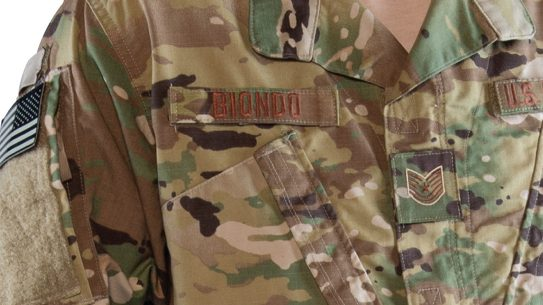new air force uniform nametape