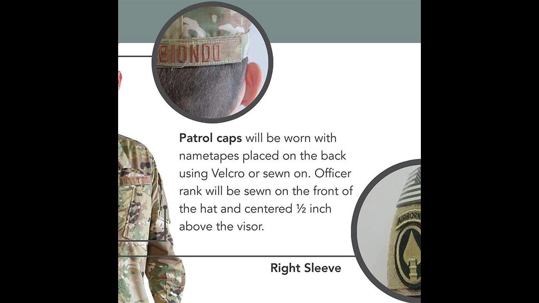 new air force uniform cap
